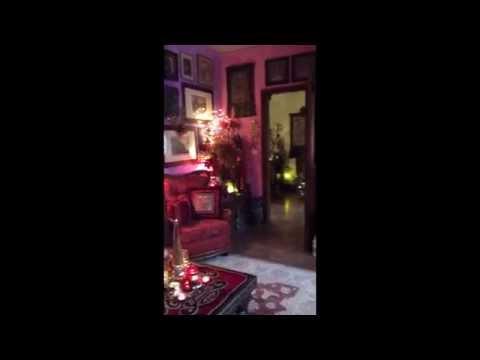 Natale 2014 -  Il salotto e la sala da pranzo