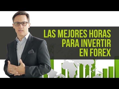 Las mejores horas para invertir en Forex