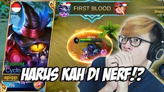 Video CYLOPS APAKAH PERLU DI NERF!? - MOBILE LEGENDS INDONESIA MP3, 3GP, MP4, WEBM, AVI, FLV Oktober 2017