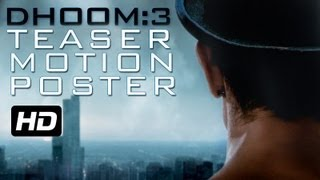 Motion Poster - Dhoom 3