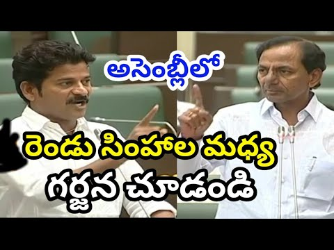 CM KCR VS Revanth Reddy in Telangana Assembly