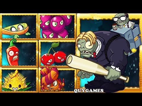 Plants VS. Zombies 2: Bombard-mint Family plants Vs Head Office Impgantuar