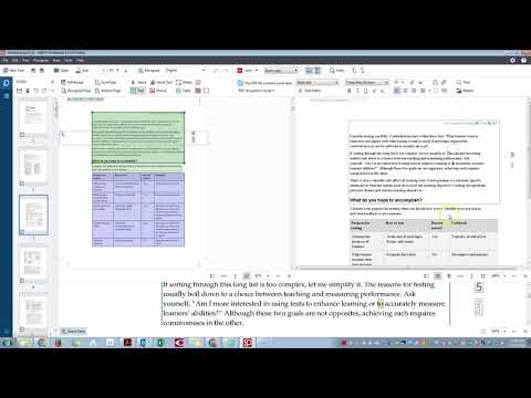 Using ABBY Fine Reader 14 to OCR a PDF