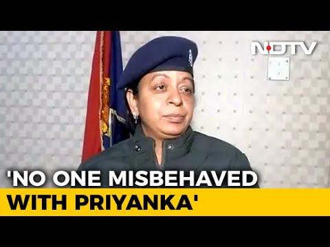 """Did My Duty"": UP Cop Denies Manhandling Priyanka Gandhi"
