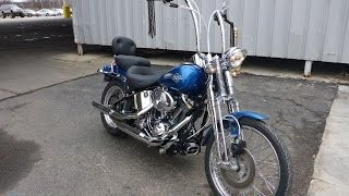 4. 2006 Harley Davidson FXSTSI Springer Soft Tail   For Sale   Online Auction