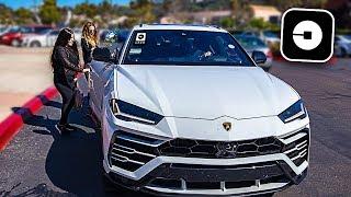 Video Picking up Uber Riders in my Lamborghini Urus! **crazy reactions** MP3, 3GP, MP4, WEBM, AVI, FLV Juni 2019