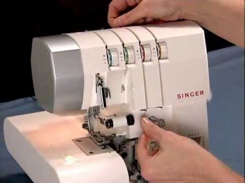 Singer's How to Thread the Singer 4 Thread Sergers Video