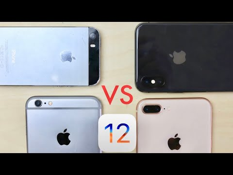 Older iPhones Faster Than Newer iPhones On iOS 12!