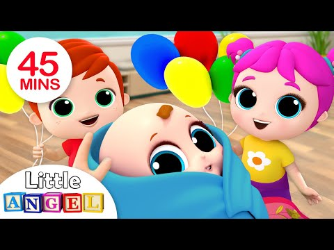 Baby is Here! Welcome Home, Baby Brother | Nursery Rhymes by Little Angel - Thời lượng: 46 phút.