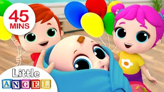 Video Baby is Here! Welcome Home, Baby Brother | Nursery Rhymes by Little Angel MP3, 3GP, MP4, WEBM, AVI, FLV Maret 2019