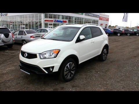 2013 SsangYong Actyon. Start Up, Engine, and In Depth Tour.