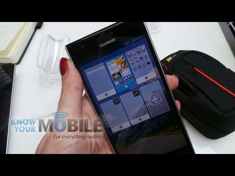 Huawei Ascend P2 hands on at Mobile World Congress