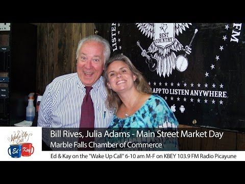 Main Street Market Day in Marble Falls