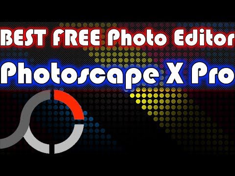 Best FREE RAW Photo Editor - Photoscape X Pro