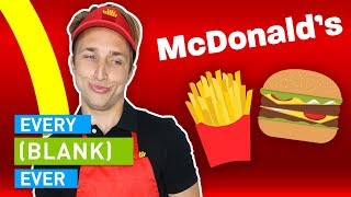 Video EVERY MCDONALD'S EVER MP3, 3GP, MP4, WEBM, AVI, FLV Januari 2018
