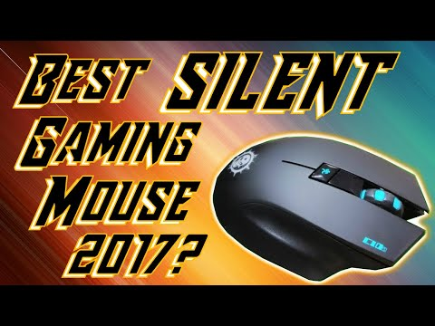 Best silent gaming mouse ever!  Srocker C10s Wireless Silent click