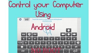 Hey guys first video of 2016 here and in this video i show you on how to control your laptop/computer using your Android phone.Files Needed:Intel® Remote Keyboard Host App- https://downloadcenter.intel.com/download/24967Intel® Remote Keyboard- https://play.google.com/store/apps/details?id=com.intel.remotekeyboardPlease do like and share if you enjoy watching this and subscribe for more upcoming videos.Love my videos ? Donate me - https://www.paypal.com/cgi-bin/webscr?cmd=_s-xclick&hosted_button_id=HCWCQZWURV7NLFor business inquiries - ashangharsh@gmail.comCONNECT WITH ME-Facebook -https://www.facebook.com/asangam.androidInstagram - https://www.instagram.com/the_asangamTwitter -   https://www.twitter.com/the_asangamMusic Used1- Greenery-Silent Partner2-The MasterThe Master by Audionautix is licensed under a Creative Commons Attribution license https://creativecommons.org/licenses/by/4.0/Artist: http://audionautix.com/