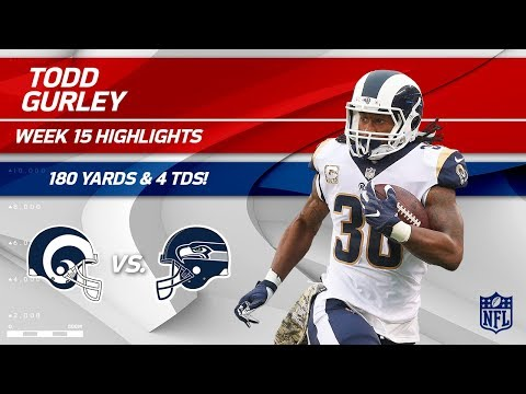 Video: Todd Gurley Highlights | Rams vs. Seahawks | NFL Wk 15 Player Highlights