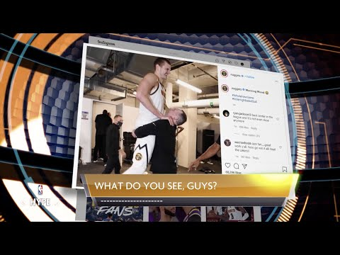 NBA Hype hosts add their own twist on popular NBA posts | NBA Hype: What do you see?