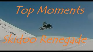 8. Skidoo Renegade 550f 2011 TOP MOMENTS