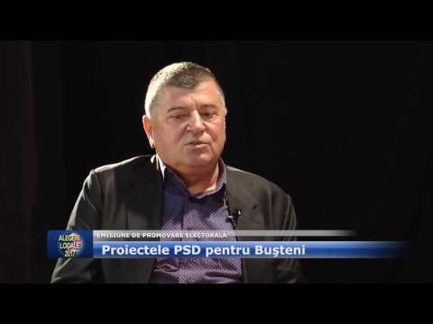 Emisiune electorala – PSD Busteni