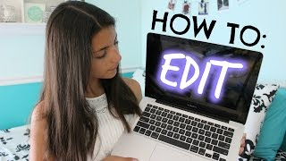 How I Edit My YouTube Videos (iMovie) | Part 2