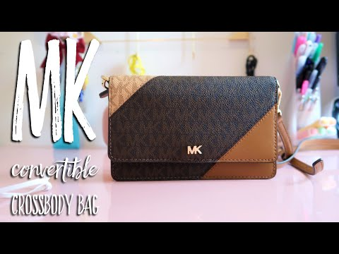 MK Convertible Crossbody Bag видео
