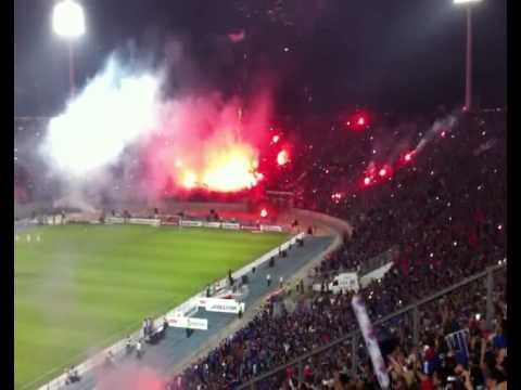 Video - Chile - Los De Abajo (Final Copa Sudamericana 2011) - Los de Abajo - Universidad de Chile - La U - Chile