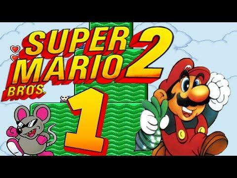Let's Play Super Mario Bros. 2 Part 1: Yume K?j?: Doki Doki Panic?