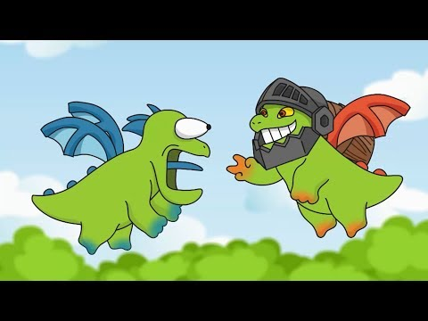 Clash Royale Animation #46: Inferno Dragon & Baby Dragon (Parody) (видео)