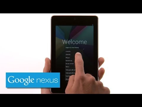 Image of Nexus 7 Getting Started (Official Google Demo Video)