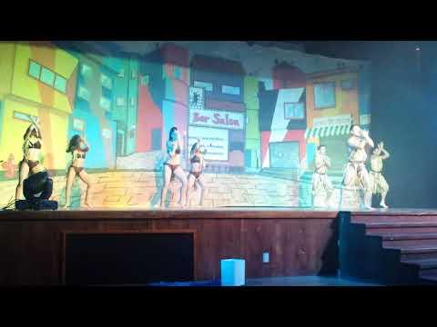 Grand Riviera Princess Show, Playa del Carmen. Dancers Show.
