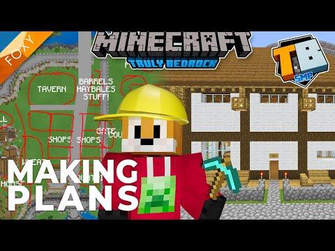 Making Plans & Building Taverns | Truly Bedrock Season 2 [47] | Minecraft Bedrock Edition 1.16.4