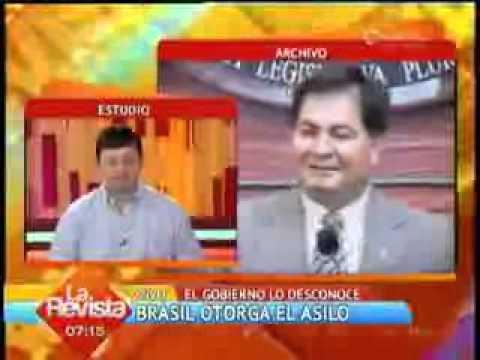 Oscar Ortiz – Brasil otorgo asilo a Senador Roger Pinto – II Unitel