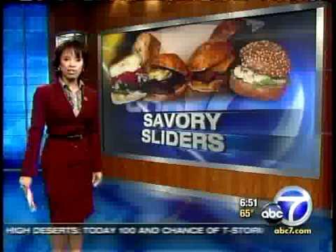 Best Burger Sliders in LA (ABC 7 News)