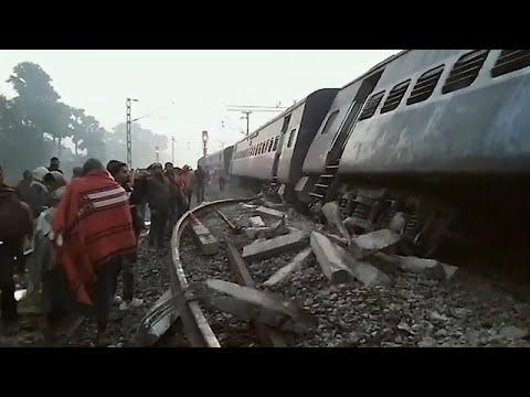 Ινδία: Νεκροί και τραυματίες από εκτροχιασμό τρένου