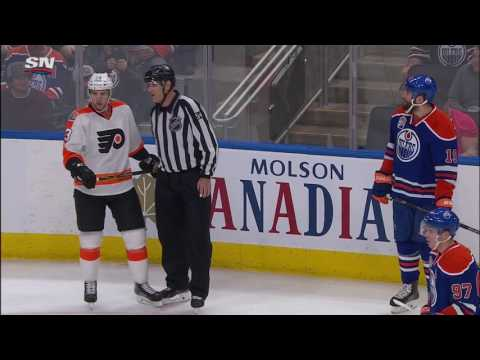 Video: Maroon fights, then wrestles Manning's skull to the ice