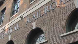 Mattoon (IL) United States  city photos gallery : The former Illinois Central Railroad Depot in Mattoon, Illinois