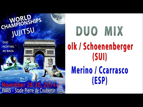 2014-11-28 WC Jujutsu DUO MIX Jokl/Schonenberger (SUI) VS Merino/Carrasco (ESP)