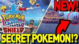 NEW HIDDEN POKEMON! THINGS YOU MISSED! Pokemon Sword and Shield Gameplay Discussion! by aDrive
