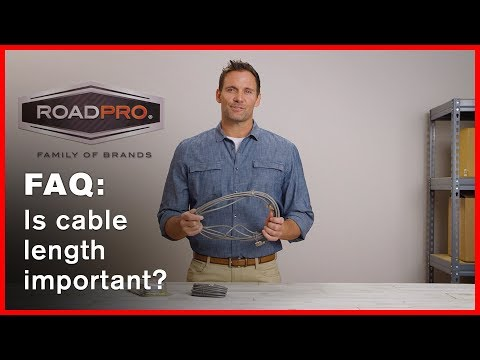 CB Radio FAQ #1 - What is the correct length of cable?