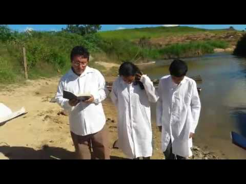 Batismo no rio jucurucu em itamaraju Bahia