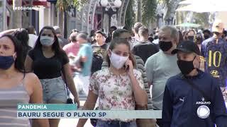 Prefeita fala sobre Plano São Paulo, vacinação e novos leitos