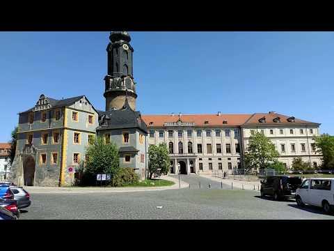 Weimar Schlossplatz am 21.05.2018