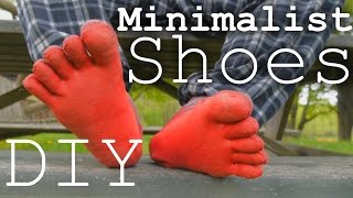 How To Make Minimalist Running/Climbing Shoes At Home