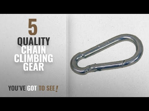 Top 10 Quality Chain Climbing Gear [2018]: Quality Chain SH1112 Snap Hook Carabiner (7/16