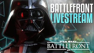 Star Wars Battlefront LIVE! (Launch Live Stream Multiplayer Gameplay PS4)