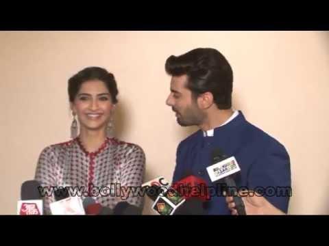 Sonam Kapoor & Fawad Khan On Set Of Entertainemnt Ke liye Kuch Bhi Karega