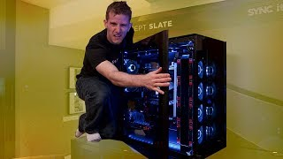 THIS CASE IS BIGGER THAN ME - CORSAIR CONCEPT SLATE