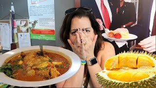 Trying Durian and Fish Head Curry (WK 297.4) | Bratayley